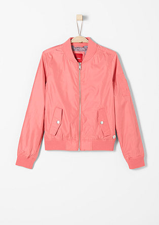 Nylon-look bomber jacket from s.Oliver