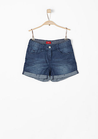 Leichte Denim-Shorts