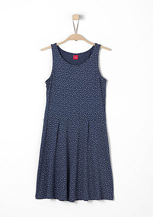 Patterned jersey dress from s.Oliver