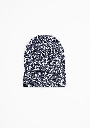 Melange knit beanie from s.Oliver