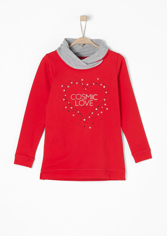 buy sweatshirt with a turtleneck s oliver shop. Black Bedroom Furniture Sets. Home Design Ideas