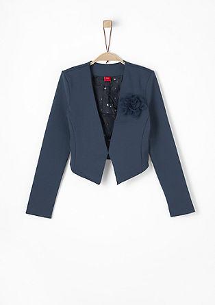 Kurzer Jersey-Blazer