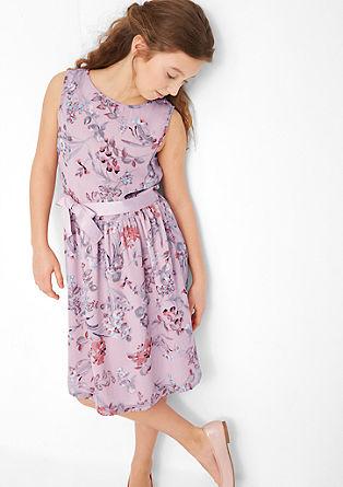 Festliches Kleid mit Blumenmuster