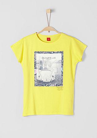T-Shirt in V-Shape
