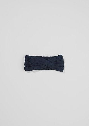 Trak za lase iz rebraste pletenine