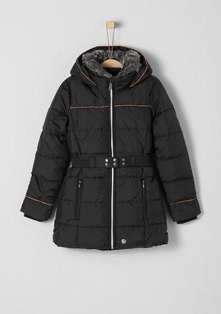 Wasserabweisender Mantel mit Details