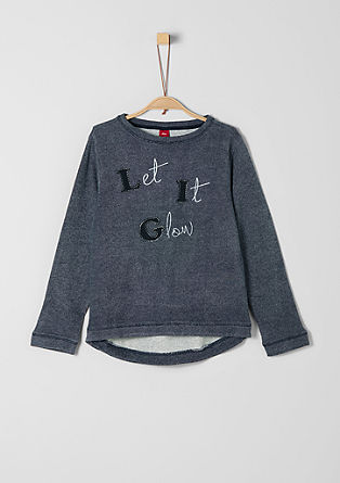 Sweatshirt mit Statement