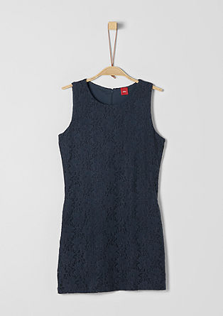 Floral lace stretch dress from s.Oliver