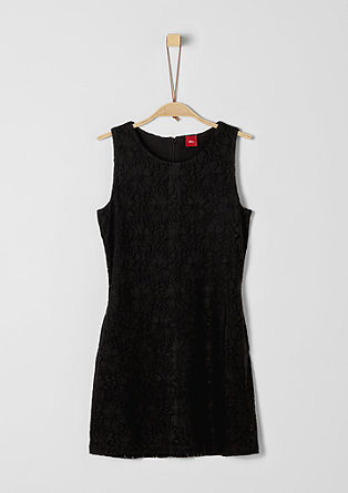 Stretch dress in mesh lace from s.Oliver