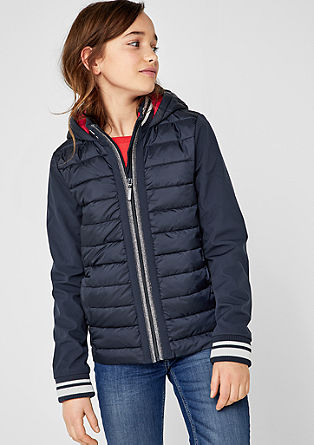 High-performance jacket in a mix of materials from s.Oliver