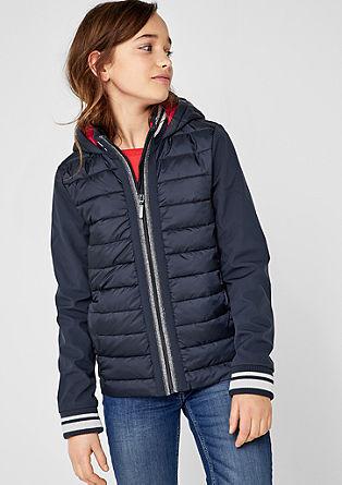 Funktionale Jacke im Fabric Mix