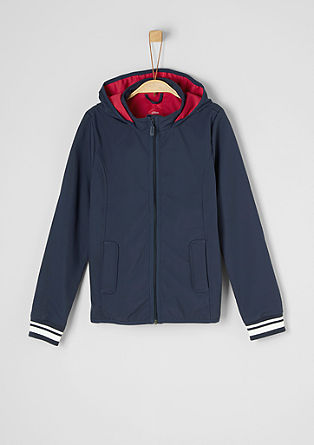 Sporty softshell jacket from s.Oliver