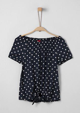 Bluzna majica z natisnjenim vzorcem