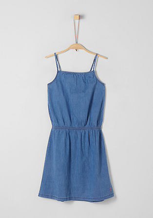 Kleid im Denim-Look