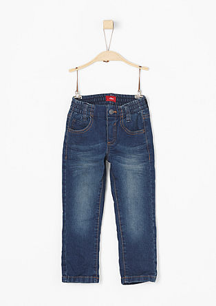 Pelle: jeans with an elasticated waistband from s.Oliver