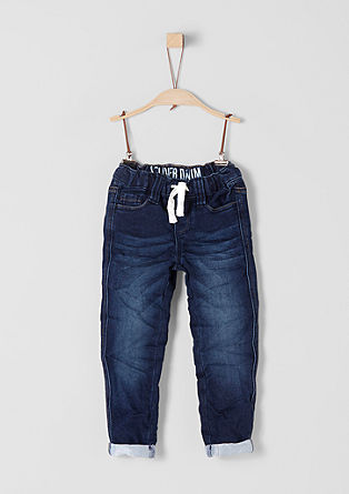 Stretch-Denim im Joggstyle