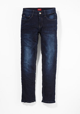Seattle: Jeans mit Used-Waschung
