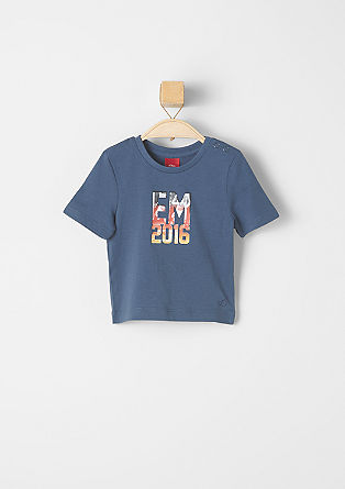 T-shirt with a Euro 2016 motif from s.Oliver
