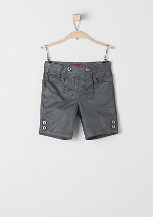 Kurze Hose im Trachten-Look