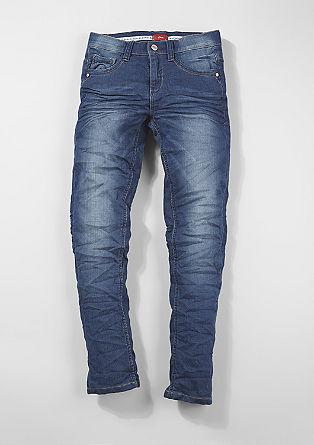 Skinny Seattle: Struktur-Jeans