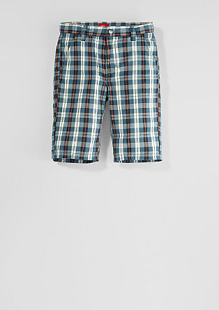 Chino: check Bermudas from s.Oliver