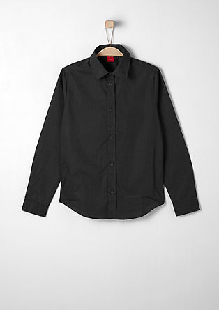 Slim: classic cotton shirt from s.Oliver