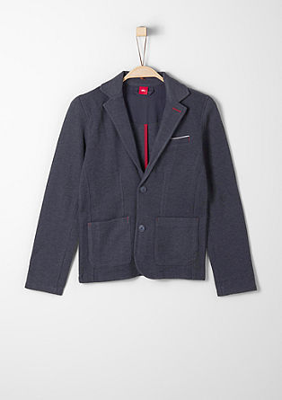 Zip-up sweatshirt in a tailored style from s.Oliver