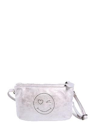 Mini Bag im Metallic-Look