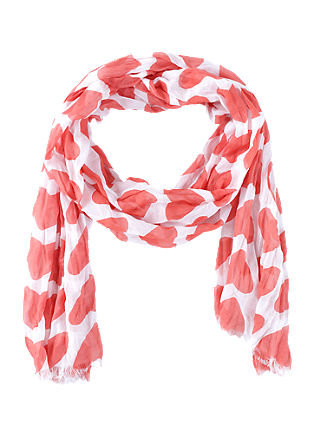 Scarf in a two-tone design from s.Oliver