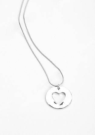 Necklace with a heart pendant from s.Oliver