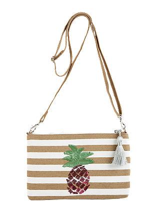 Clutch torbica z bleščicami