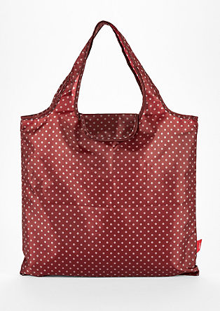 Shopper with an all-over print from s.Oliver