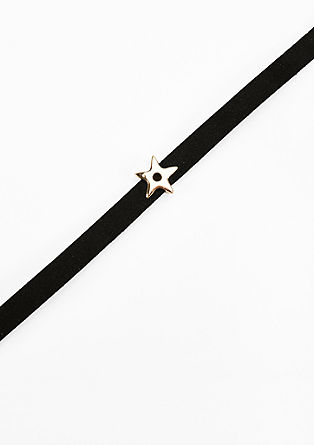 Choker with a star from s.Oliver
