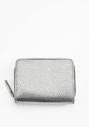 Zip Wallet in Glanz-Optik