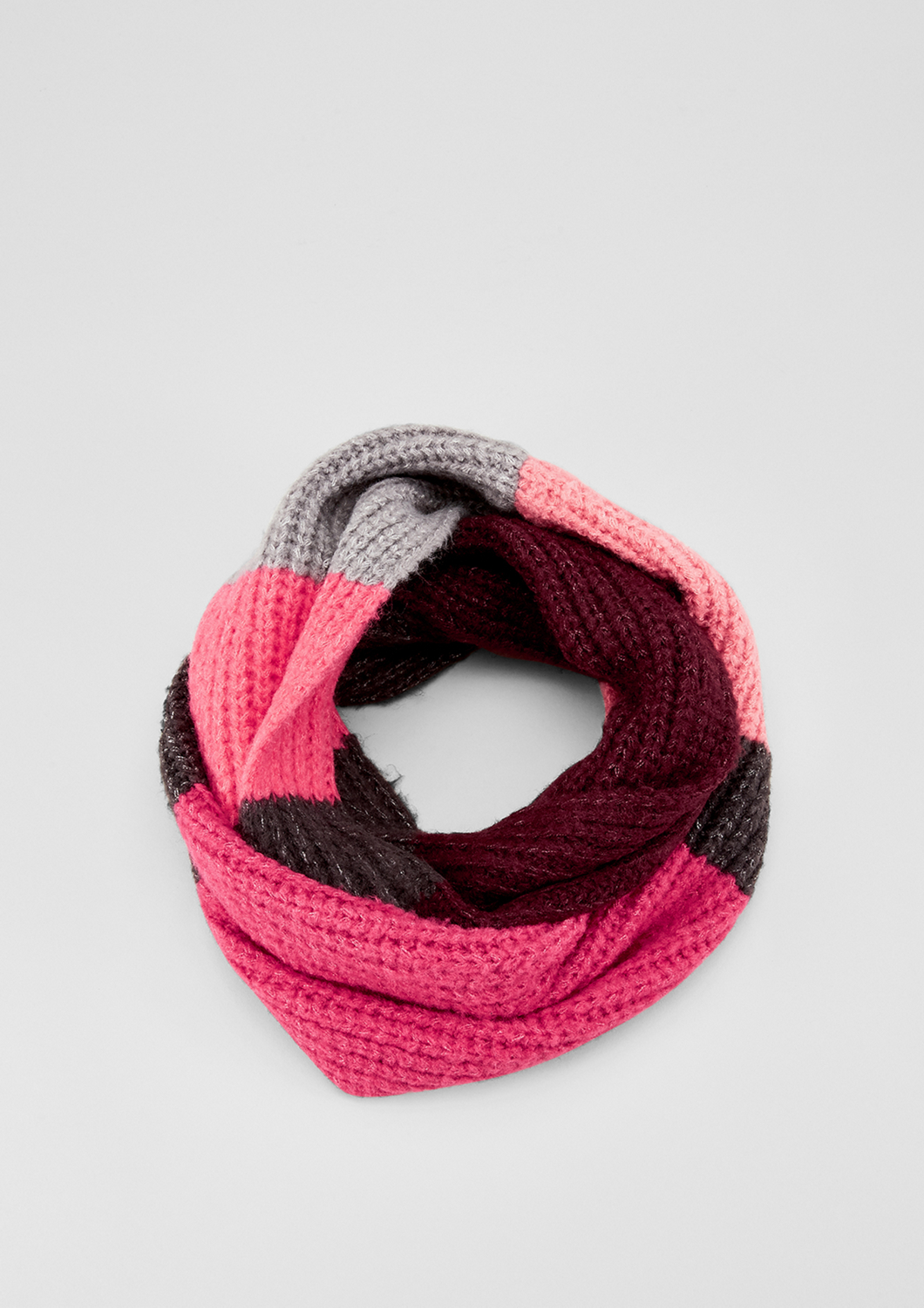 Strick-Loop | Accessoires > Schals & Tücher > Loops | Pink | 75% polyacryl -  22% polyester -  3% elasthan | s.Oliver