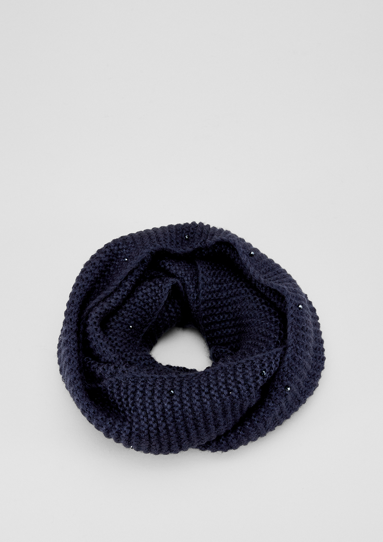 Strick-Loop | Accessoires > Schals & Tücher > Loops | Blau | 100% polyacryl | s.Oliver