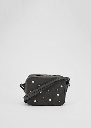 Mini Bag mit Fake-Perlen