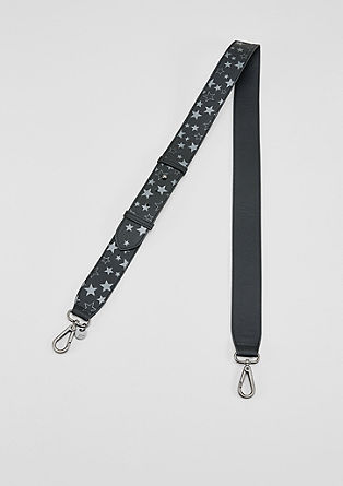 Shoulder strap with a metallic pattern from s.Oliver