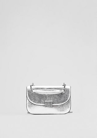 City Bag im Metallic-Look