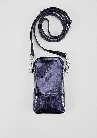 Mobile Phone-Bag mit Metallic-Effekt