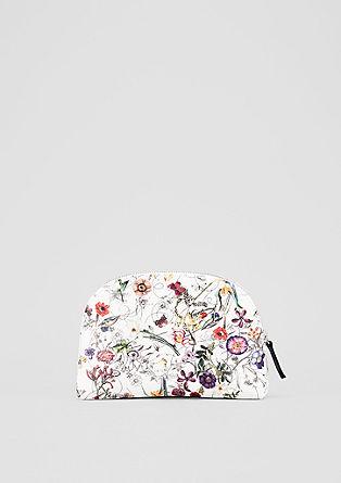 Pouch mit floralem Print