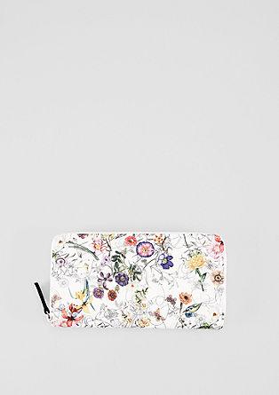 Portefeuille zippé orné d'un imprimé à fleurs de s.Oliver