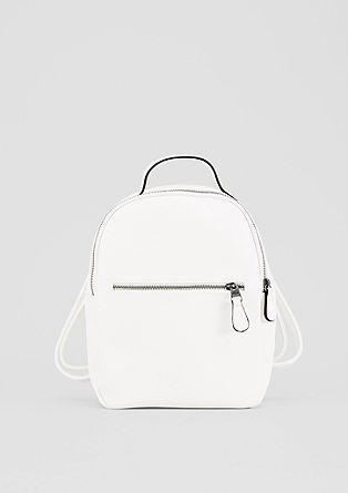 Small rucksack in a leather look from s.Oliver