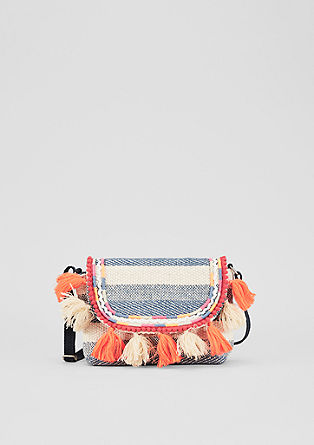 Sommerliche Mini Bag mit Quasten