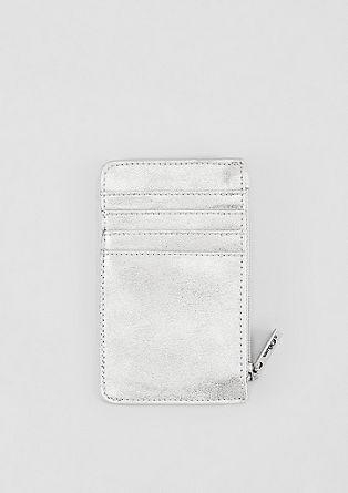 Mini portefeuille à poche zippée de s.Oliver