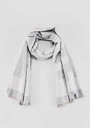 Langer Schal mit Wording