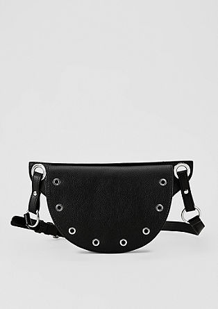Hip bag with studs from s.Oliver