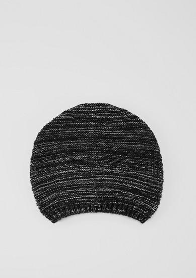 Mütze mit Glitzer-Effekt