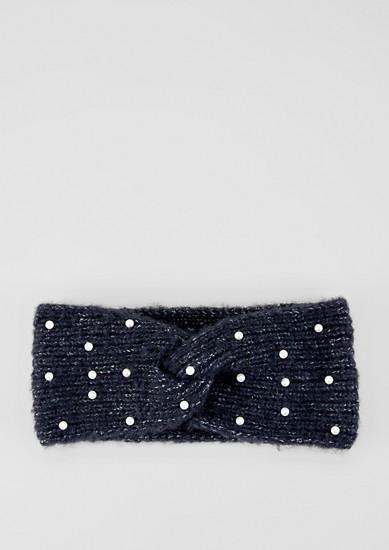 Haarband mit Zierperlen