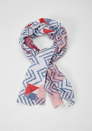 Floaty patterned scarf from s.Oliver